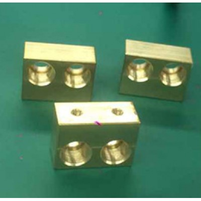 Dual 9mm diode holder